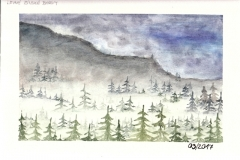 Foggy-landscape
